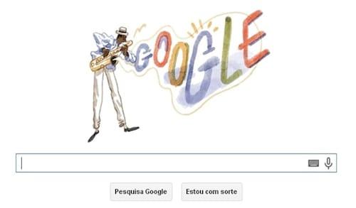 Google presta homenagem a Pixinguinha com Doodle