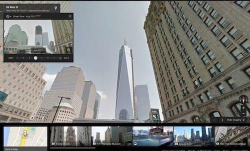Google Street View conta com Máquina do Tempo