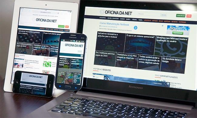 Oficina da Net lança o layout responsivo