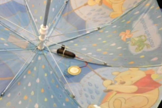 Guarda-chuva inteligente ajuda na captação de dados climáticos