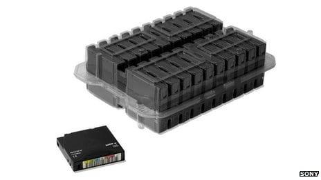 Sony desenvolve fita que armazena 185 terabytes