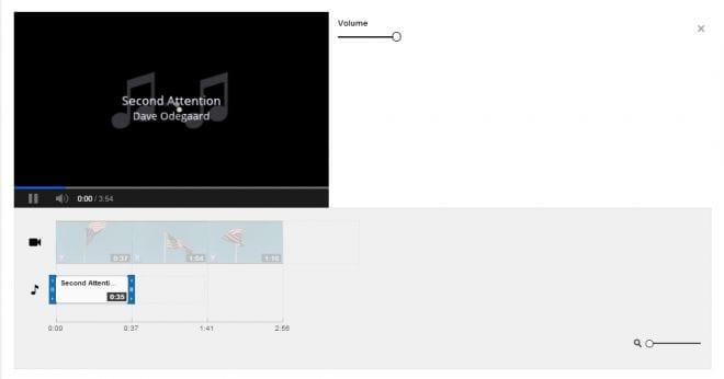 Adicionando música ao vídeo #2