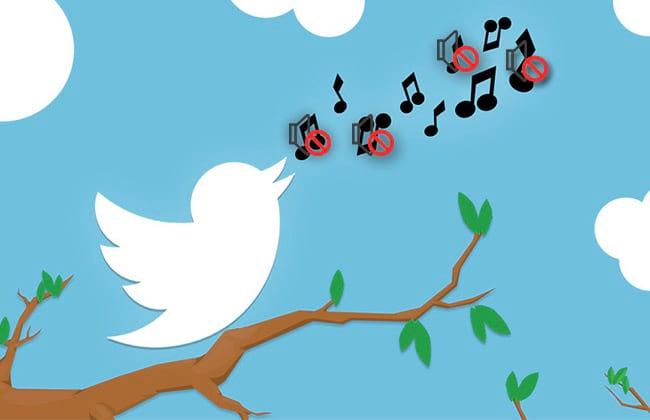 Como usar o botão Silenciar no Twitter