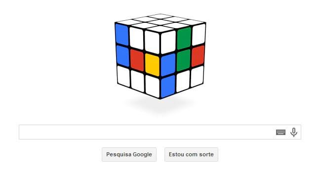 Google comemora os 40 anos do cubo de Rubik com Doodle