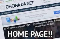 Torne o Oficina da Net a sua página inicial