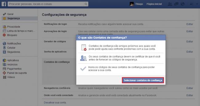 Aprenda como proteger sua conta do Facebook contra hackers