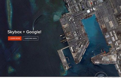 Google compra empresa que captura imagens via satélite