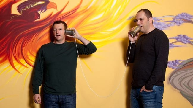Brian Acton e Jan Koum