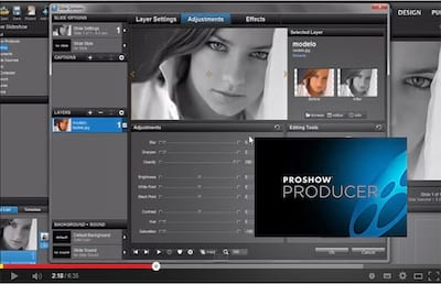 Proshow Producer 6 - Saturation
