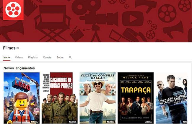Veja como alugar ou comprar filmes no YouTube