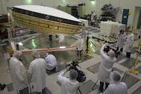 NASA inicia testes de disco voador que pousará em Marte