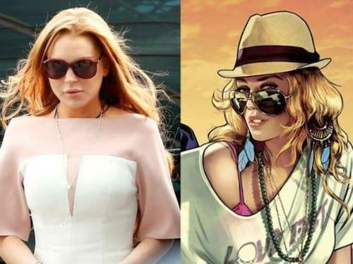 Lindsay Lohan processa Rockstar por suposto uso de sua imagem