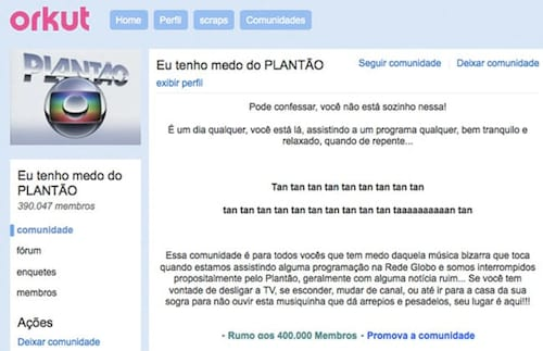10 comunidades do Orkut que farão falta