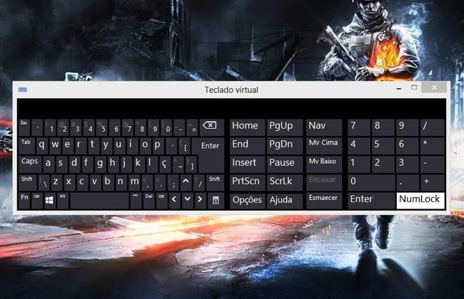Meu teclado está desconfigurado, o que fazer?