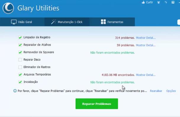 Como otimizar seu computador com o Glary Utilities