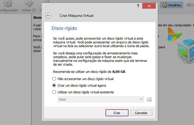 Como instalar uma máquina virtual no meu computador?