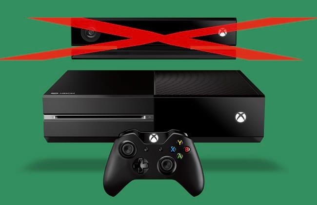 Xbox One vende em dobro sem o Kinect