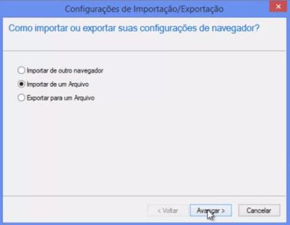 Como fazer backup e restaurar os sites favoritos do seu navegador