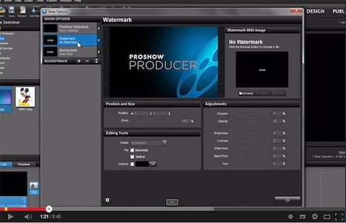 Proshow Producer 6 - Novidades - Blur e Saturation