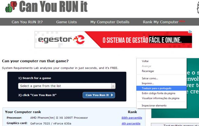 Como saber se um jogo roda no seu computador