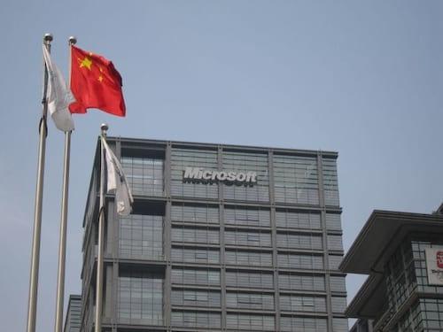 Autoridades da China realizam visitas súbitas a escritórios da Microsoft