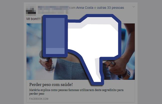 Como remover o vírus do Facebook que marca seus amigos em uma publicação