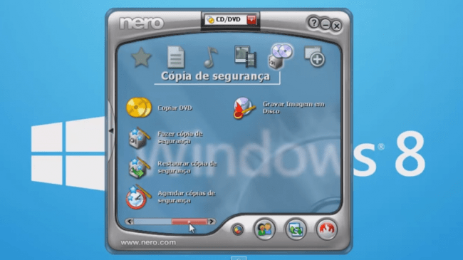 Gravando o Windows 8 no DVD-R virgem