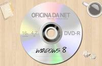 Gravando o Windows 8 no DVD-R virgem