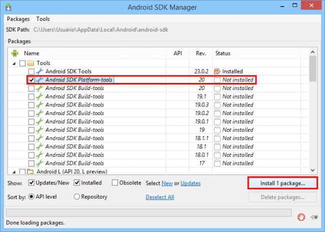 Como instalar apps direto no cartão SD