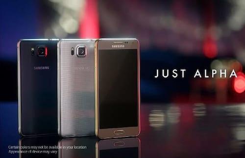 Samsung lança Galaxy Alpha com bordas de metal