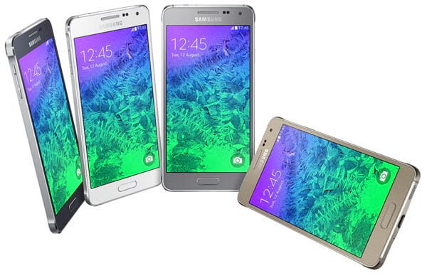 Samsung lança Galaxy Alpha com bordas de metal