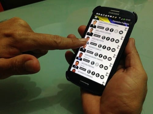 Políticos: App possibilita avaliar o mandato de governantes