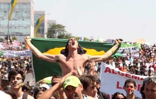 Movimento contra corrupção, Brasil 2013.