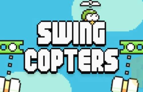 Sucessor do Flappy Bird, Swing Copters, estreia HOJE
