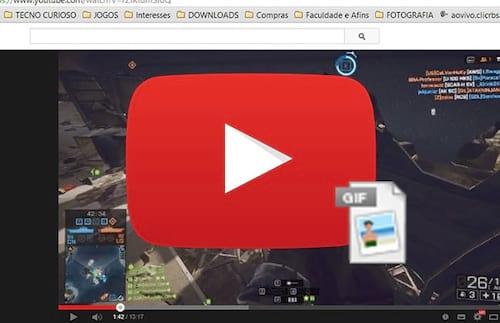 Como criar um gif a partir de um vídeo no Youtube