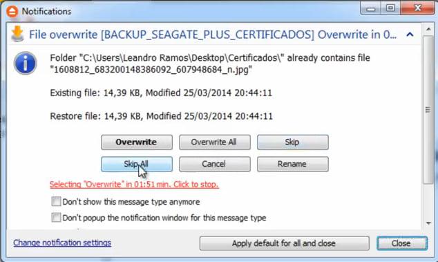 Realizando backup e restaurando seus dados com o FBackup