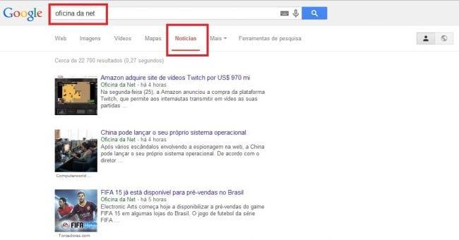 Veja como criar um Feed de notícias através de pesquisa no Google