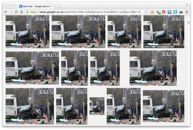 Google Imagens pode ter sido hackeado