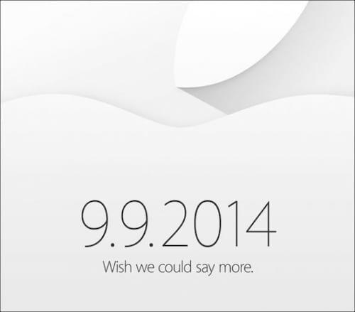 Agora é oficial: Apple confirma evento para o dia 9 de setembro