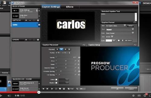 Proshow Producer 6 - Novidades - Case