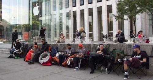 Clientes já formam filas em frente as lojas da Apple por iPhone 6