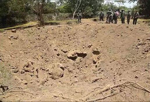 Queda de meteorito abre cratera na Nicarágua