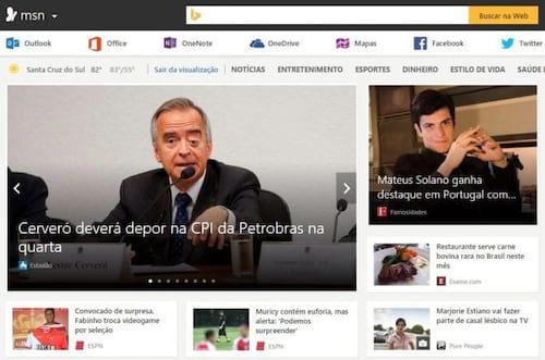 Microsoft anuncia lançamento do novo MSN