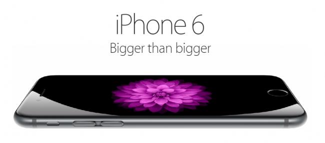 Apple lança iPhone de tela grande, o iPhone 6 Plus