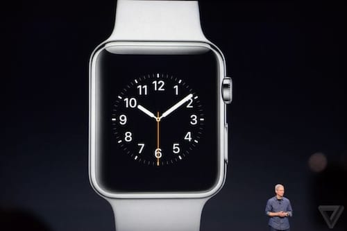 Apple Watch dá as caras