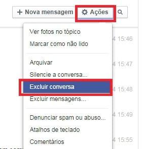 Veja como arquivar as mensagens do Facebook ou mesmo deletá-las