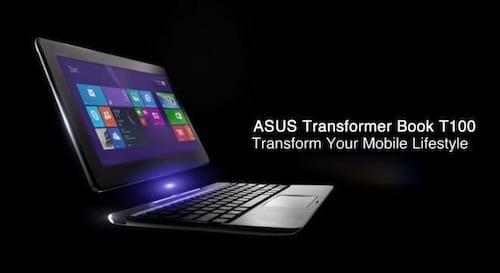 Transformer Book T100, o mais novo notebook 2 em 1 da Asus