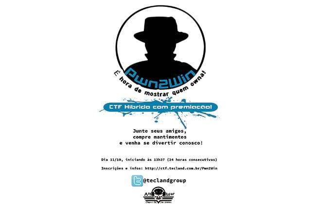 Pwn2Win CTF: Maratona de programação pela segurança da informação ocorre em 11 de outubro