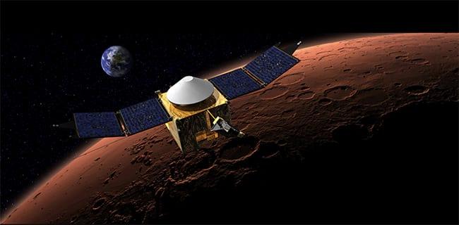 Sonda Maven chega a Marte
