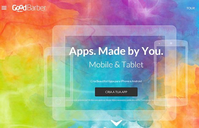 Crie seu próprio aplicativo sem saber programar